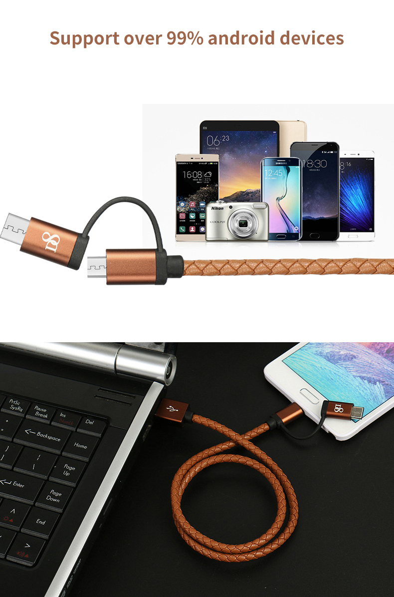 Type-C Data Cable for Android Fast Charging